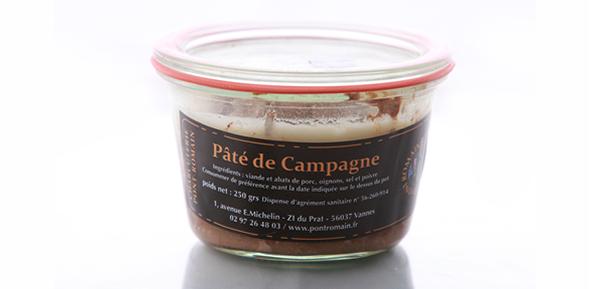 pâté de campagne fabriqué en bretagne