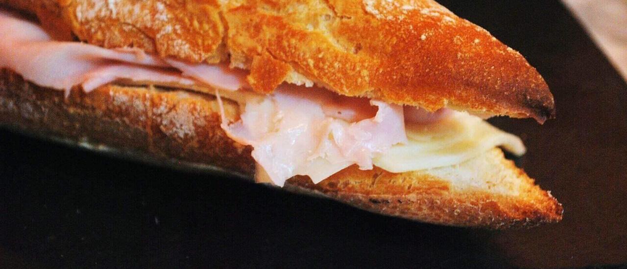 sandwich charcuterie pont romain